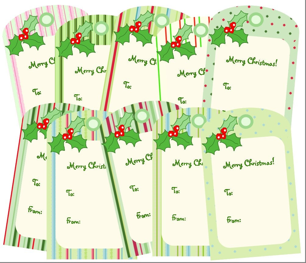 Funny Christmas Gift Tags Printable Pdf printable christmas gift