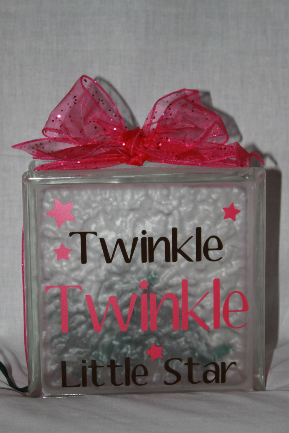 Twinkle Twinkle Little Star Diy Decal For Glass By Worldofakd