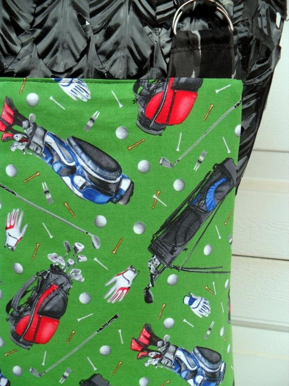 Reversible Chef Style Grilling Apron for the Golfer