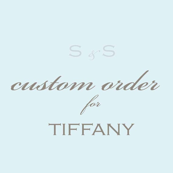 RESERVED for TIFFANY- Custom Table Numbers and Escort Tags