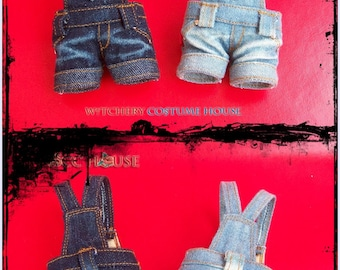 Mini Overalls fit for Hujoo and Neo Blythe