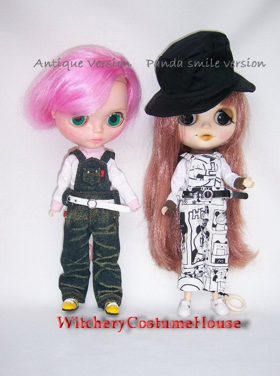 Special Discount 20% off Blythe Overalls pants in Antique version