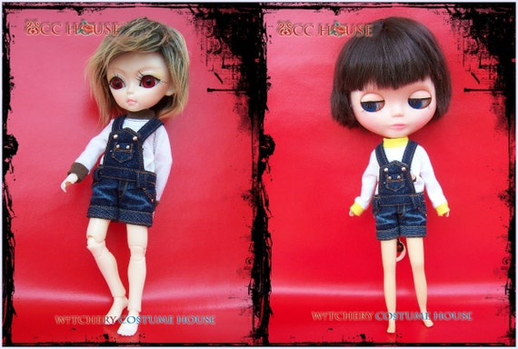 Mini Overalls Deep fit for Hujoo and Neo Blythe