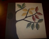 Personalized Custom Family Tree Painting