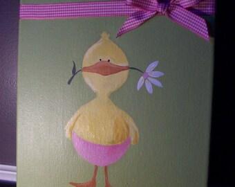 Little Ducky Baby Girl