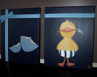 Duck & Egg pair