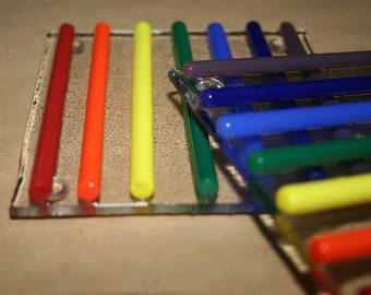 Rainbow Stripe Coaster