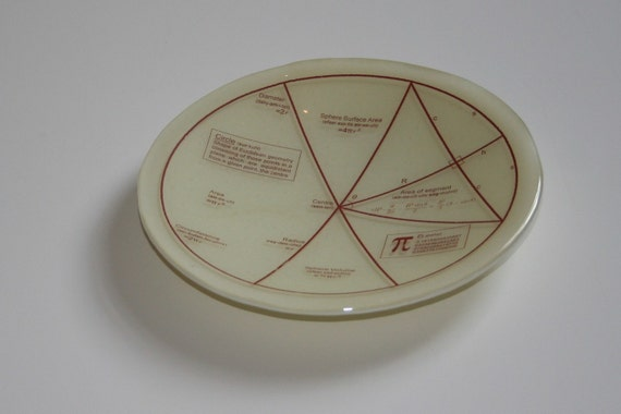 Geektastic Circle/ Maths/ Pi/ Equations Bowl - made to order in any colour