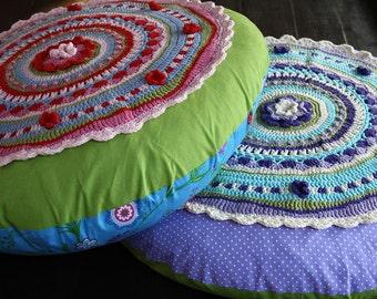 Flower Cushion Pattern PDF
