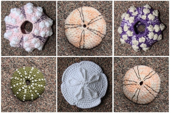 Crochet Patterns Etsy : Sea Urchin crochet pattern by CAROcreated on Etsy