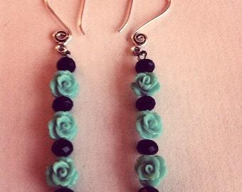 Petite Rosebud Earrings