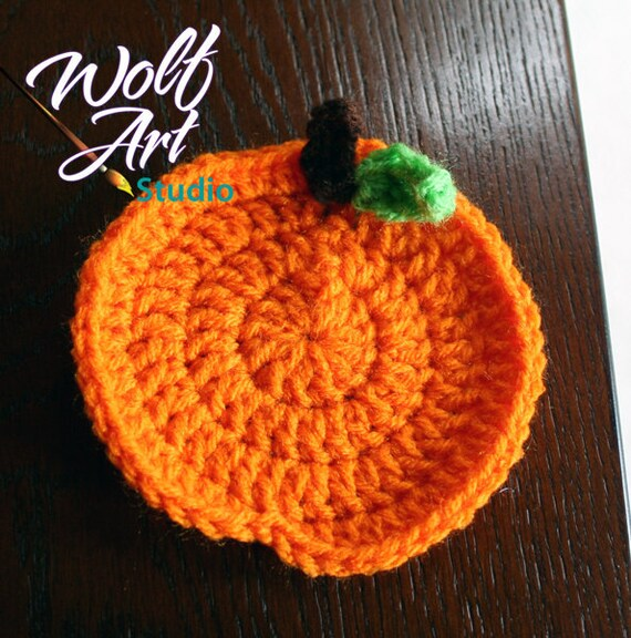 PATTERN for Orange/Pumpkin Coasters