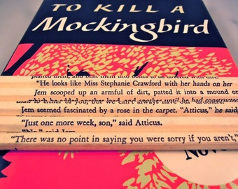 To Kill a Mockingbird Wrapped Pencil Set