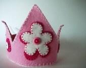 Felt Flower Crown, Any Color You Choose
