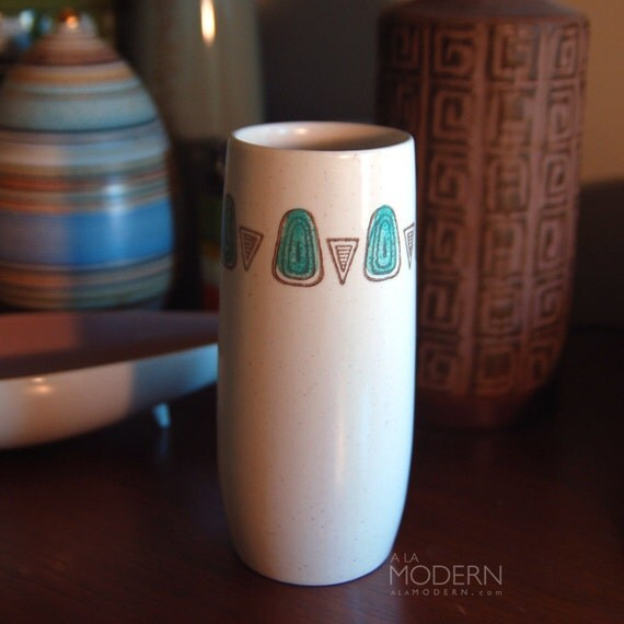 Metlox Pottery Navajo Tumbler Cup Southwest Vintage