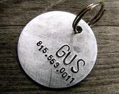 Gus 1.25'' Custom ID Tag in Brushed Aluminum