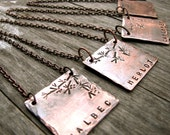 Wine Varietal ID / Bottle Necklace - Perfect Gift for the Wine Lover
