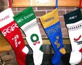 Special order for Personalized Christmas stockings