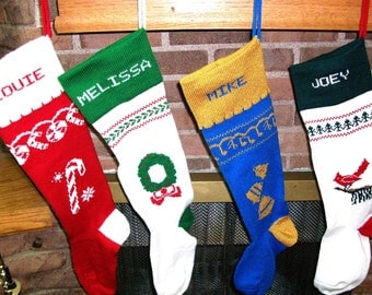 The names make all the difference...Order your PERSONALIZED Christmas Stocking(s) today