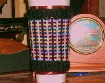 Psychedelic  Cup Cozy...Large