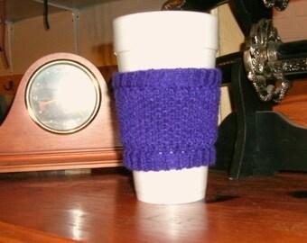 Purple Cup Cozy