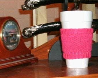 Fuscia Cup Cozy