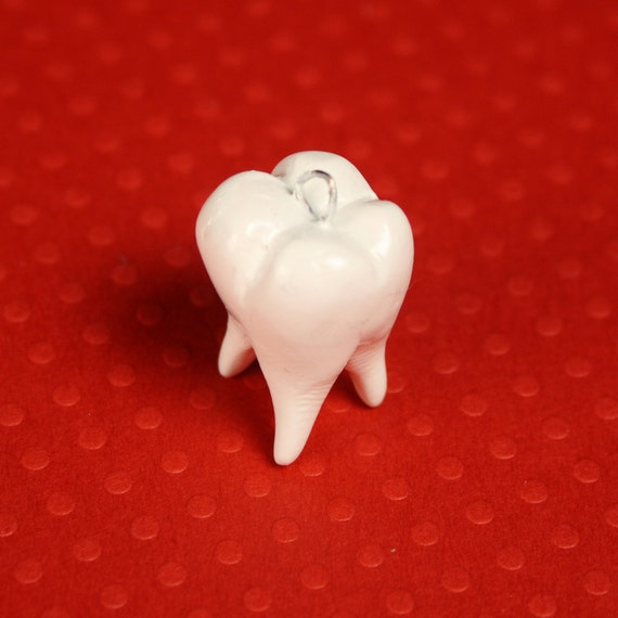 Wisdom Tooth Charm By RachelOs On Etsy