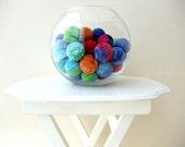 Big Colourfull Balls 6Pcs Vase Filler (Without Holes)