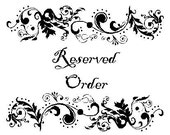 Reserved Order for Lala7575