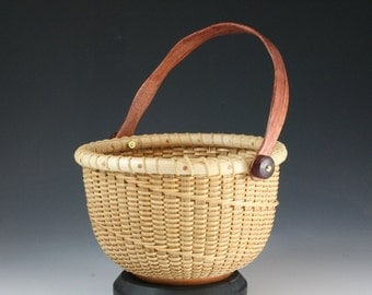 Cane 6-inch Nantucket Style Basket (RR 5315)