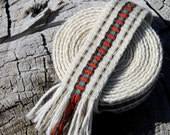 Inkle Weaving Wool Band - inkleing