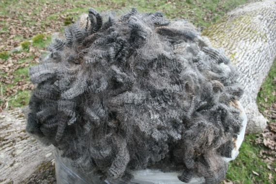 Natural Colored Romney Fleece- S'Mores