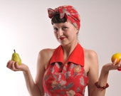MADE TO ORDER - 1940's summer turban