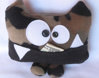 Colonel Cuspid the Tooth Fairy Pillow and Tooth Chart by Kooky Critters
