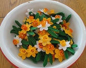 3d Crochet Daffodil Flower Pattern Instant Download