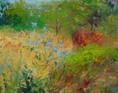 Wild Flowers oil painting