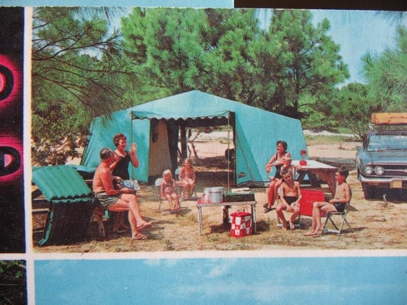 1950s Postcards, Myrtle Beach, South Carolina, Vintage Advertising
