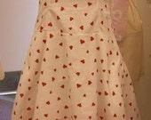 heart halter dress