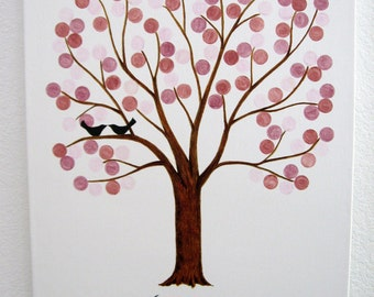 Wedding Signature Tree - Wedding Guest Tree - Custom Orders Only - Wedding Wish Tree - Guest Book Alternative