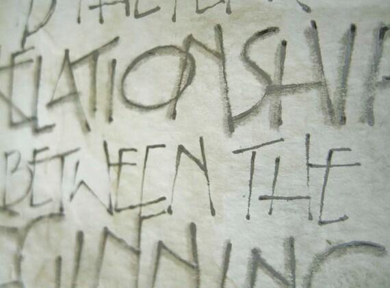 WISDOM is . . .- Calligraphy Watercolor
