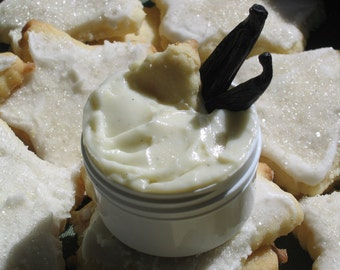 Organic Sugar Cookie Lotion -- 1 1/2 oz. BPA FREE Jar- A Creamy, Vanilla delight for your senses - Like Cookie Dough