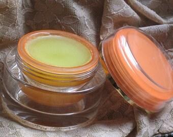Organic Eye Cream made with Organic Jojoba and Local Unrefined Beeswax 2 oz. glass jar