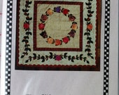 Rose Wreath Medallion Wall Hanging (Hand Applique) Pattern by Village Classics