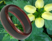Bentwood Ring, Purple Heart and Ebony.