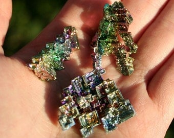 Rainbow Bismuth Crystal