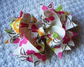 Spring Flower Boutique Hair Bow