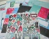 """Scrapbooking Kit """"Crave"""" Pretty Darn Quick Album in an Afternoon Kit"""