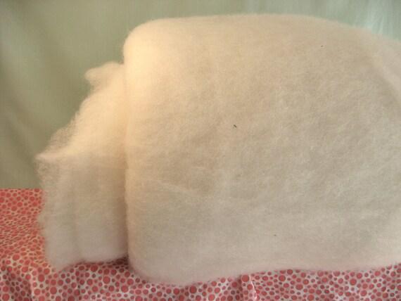 2.5 lb Pure Organic Wool Batting