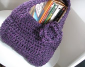 SPECIAL for BRANDY Woven rounded purse in purple