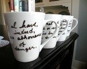 Quotable Edgar Allan Poe Mugs-Set of 4